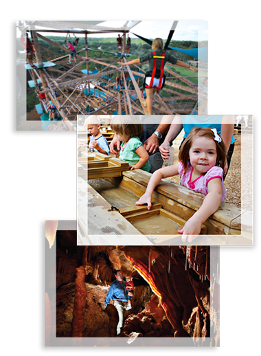 Collage of Attractions