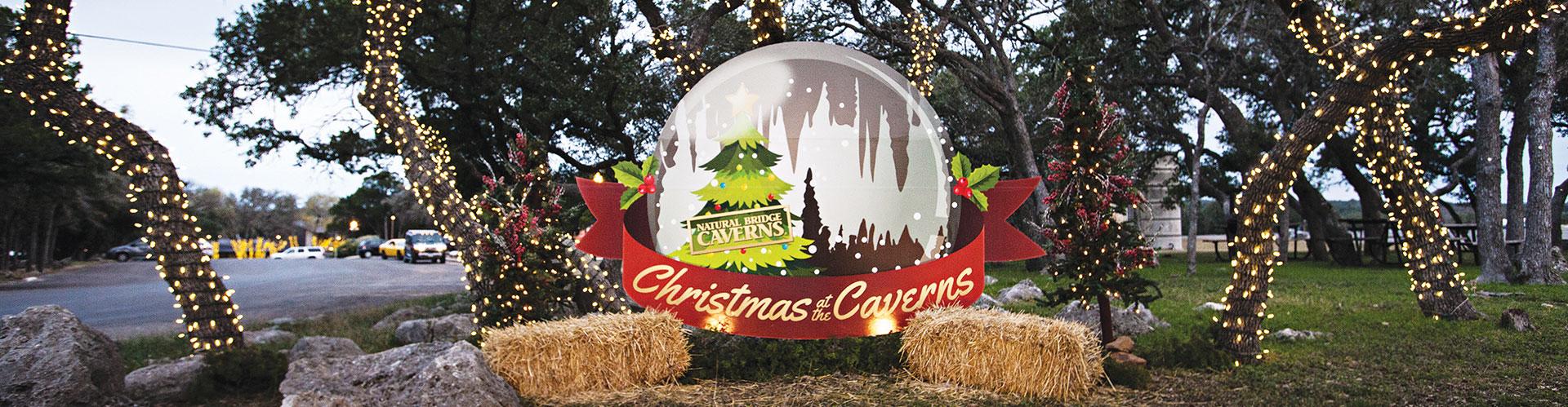 Christmas At the Caverns Photo Spot