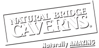 Natural Bridge Caverns white logo