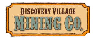 Discovery Village Mining Co. Logo