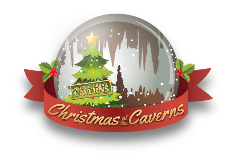 Christmas at the Caverns Snowglobe