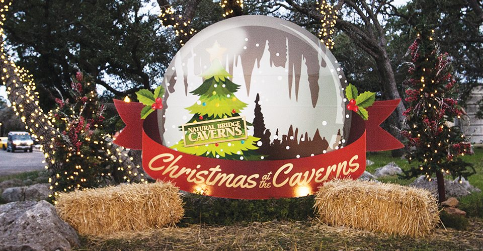 Christmas at the Caverns Photo Spot