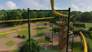Twisted Trails Top Rail View