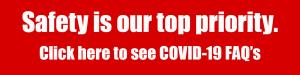COVID procedure banner