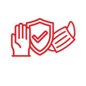 Protective Gear Icon for COVID Protocols | Natural Bridge Caverns