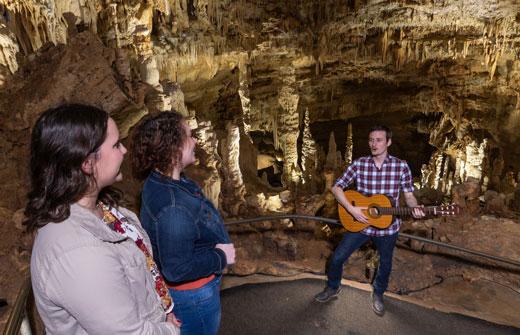 Caroling in the Caverns | Natural Bridge Caverns