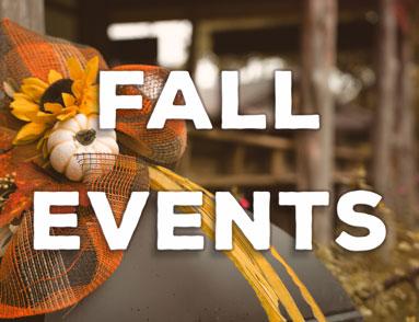 Fall Events Banner | Natural Bridge Caverns