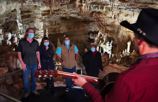 Caroling in the Caverns | Natural Bridge Caverns
