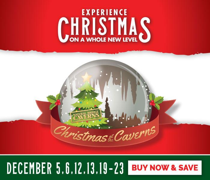 Christmas at the Caverns Tickets | Natural Bridge Caverns