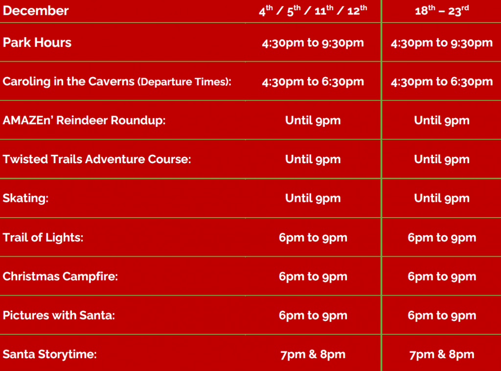 Hours and Showtimes 2021 w Borders